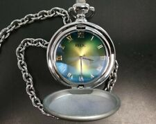 Mens Relic Pocket Watch Rare Chameleon ZR85048 I Love You Dad Fathers Day