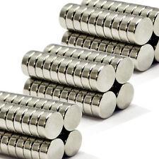 DISCO CILINDRO 70pcs 12 mm x 3 mm fai da te molto forte Industriale MAGNETI AL NEODIMIO