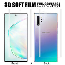 Samsung Galaxy Note 10 3D Glass Film 4H Front+Rear Film Curved