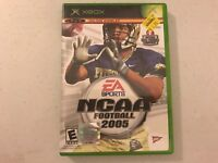 EA Sports NCAA Football 2005 Xbox video game tested complete