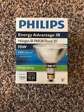 Philips 70PAR38/IRC+/FL25 120V 70W Halogen Flood