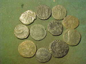 Eleven (11) Roman Imperial bronze coins as pictured