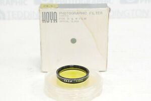 Hoya 29.5mm Yellow (K2) Filter Boxed