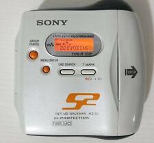Sony MZ-S1 Walkman Net Md S2 Sport Minidisc Recorder