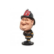 Figurine Mestieri Fireman Caricature Resin 5 11/16in Les Alpes