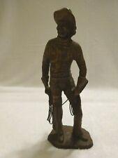 Vintage Western Cowboy Figurine by Curtis 1982
