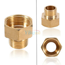 Brass Water Pipe Hex Bushing Reducer Fittings 1/2PT Male to 3/4PT Female Thread