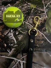 Dog Lead, Enduro Biothan Heavy Duty Dog Training Lead #darkak9