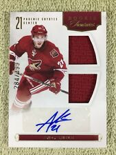 2011-12 Anthology ANDY MIELE Rookie RC Autograph Jersey #/499 Coyotes