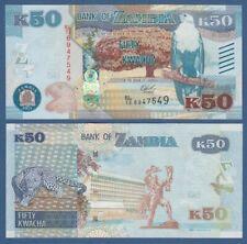 SAMBIA / ZAMBIA 50 Kwacha 2015  UNC  P. 60
