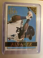 2020 TOPPS CHROME GALLERY ROOKIE CARD *YORDAN ALVAREZ HOUSTON ASTROS #GP-9
