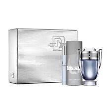 Paco Rabanne Invictus Eau De Toilette Spray 100ml Conjunto de Regalo