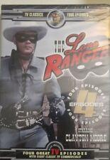 The Lone Ranger (DVD, 4 episodes, 1956)