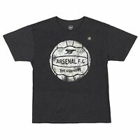 Arsenal The Gunners Soccer Football Charcoal Heather Men's T-Shirt New