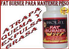 FAT BURNER (Para perder y mantener peso,actua como un atrapa grasa)