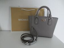 Michael Kors Tasche SMALL SANDRINE Crossbody Saffiano Grau GREY Taschen Bag neu