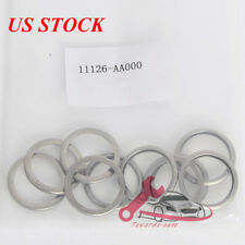 New 10x 11126-AA000 Oil Drain Plug Crush Washer Gaskets For Subaru US Stock
