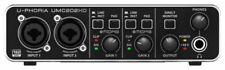 Behringer U-PHORIA UMC202HD Studio Recording USB Audio Interface Mac PC