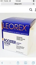 LEOREX BOOSTER ACTIVE INSTANT VISIBLE WRINKLE REDUCTION. 10 SATCHELS BOX. NEW