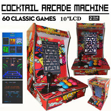 Cocktail Arcade Machine With 60 Classic Games Erect Video Game Commercial