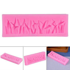 Grass Shaped Food Grade Silicone Cake Mold 3D Fondant Cake Decorating Tools Mold