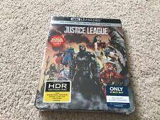 Justice League (4K Ultra Hd/Blu-ray/Digital) Steel Book Best Buy Exclusive