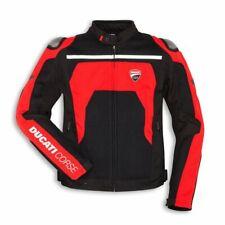 Ducati Corse Tex Verano C2 Chaqueta de Tela Chaqueta Textil Negro/Rojo