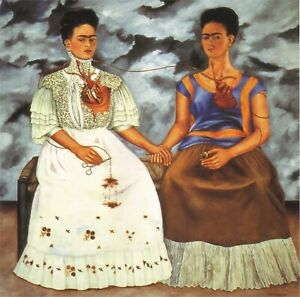 Frida Kahlo The two Fridas-1939  Movie Poster Canvas Picture Art