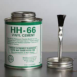 4oz HH66 HH 66 Vinyl Adhesive Glue Cement Boat Sail Repair PVC Hypalon Canvas