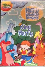 HARRY & HIS BUCKET FULL OF DINOSAURS - KING HARRY (DVD, 2009)