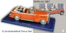 La cadillac décapotable de Tintin au Tibet Avec Figurines Tintin Haddock et Milo