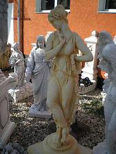 """Gartenfigur """"Frauenstatue"""" 66 cm Menschen Skulptur, Steinguss Statue, Gartendeko"""