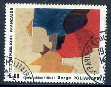 STAMP / TIMBRE FRANCE OBLITERE  N° 2554 TABLEAUX POLIAKOFF