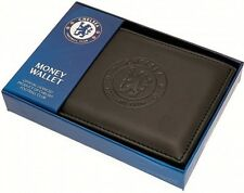 DEBOSSED CREST LEATHER FOOTBALL CLUB SPORTS TEAM MONEY CARD WALLET PURSE