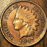 1897 USA INDIAN HEAD SMALL CENT PENNY