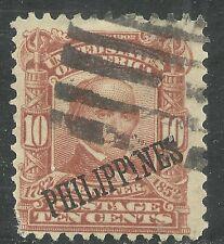 U.S. Possession Philippines stamp scott 233 - 10 cent Webster 1903-04 issue - #2