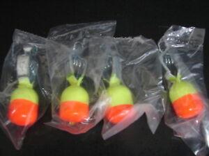 4 HT Enterprise Hi-Tech Dipsy Depthfinder Yellow & Orange Ice Fishing 1 1/4 oz.