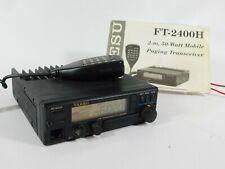 Yaesu FT-2400H FM Ham Radio Mobile Transceiver w/ Mic (works well)