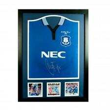 Everton FC Ferguson Signed Shirt (Framed)
