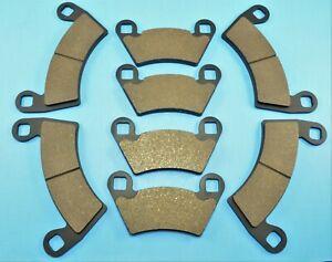 Front & Rear Brake Pads for Polaris Ranger Crew 500 4x4 2011-2013