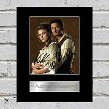 Keira Knightley and Orlando Bloom Signed Photo Display Pirates of the Caribbean