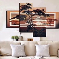 Brauty Art Wall Abstract Painting Modern Unframed Canvas Hanging Home Decor