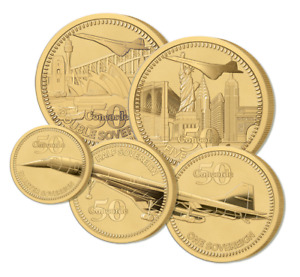 THE 2019 CONCORDE 50TH ANNIVERSARY GOLD DEFINITIVE SOVEREIGN PROOF SET
