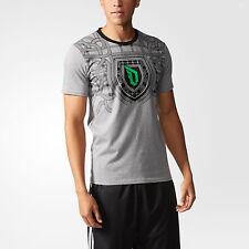 nwt~Adidas DAME FLY TEE Graphic-jersey T Shirt DAMIAN LILLARD Logo Top~Mens sz M