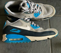 nike air max 90 trainers size 11 Grey & Blue