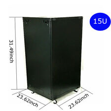 15U Network Cabinets Network Server Cabinet Rack Enclosure meshed Door Lock