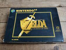 legend of zelda ocarina of time n64 nintendo 64 TESTED CIB BOXED COMPLETE VGC
