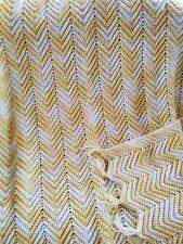 Vintage hand crocheted afghans