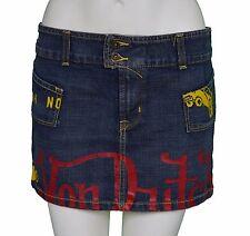 """Womens Von Dutch Denim Mini Skirt Size Large Waist 32"""""""