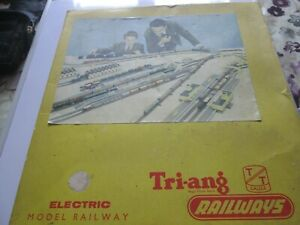 Triang TT T5 Trainset untested and boxed